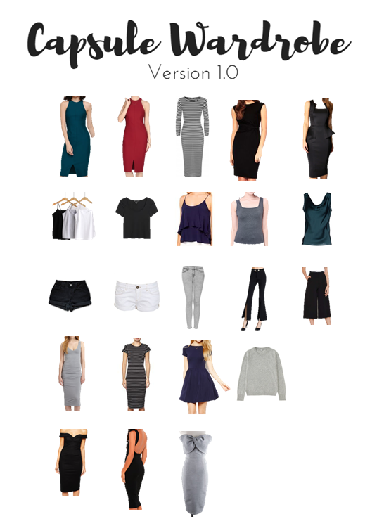 Capsule Wardrobe Version 1.0