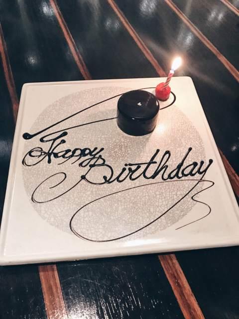 Waku Ghin_Birthday Cake