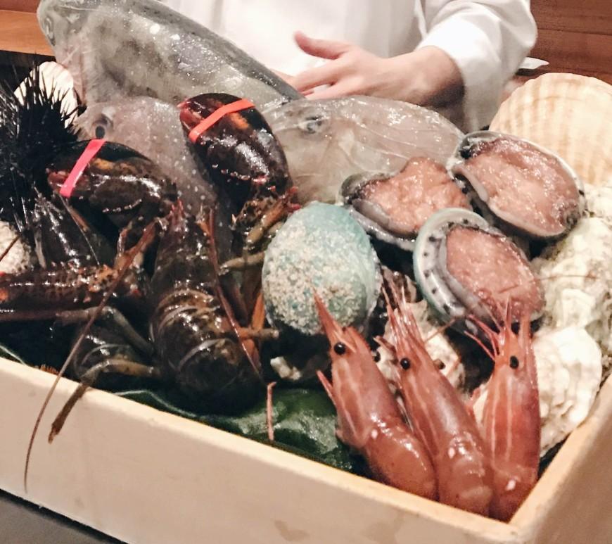Waku Ghin Seafood