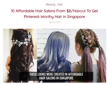 Affordable Haircuts